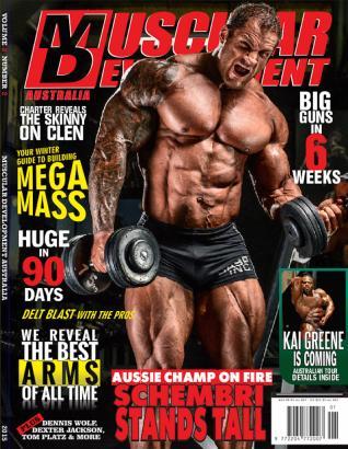 Muscular development aust nz magazine shop